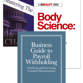 Dr. Reality Withholding Booklet with Income Tax: Shattering the Myths and Body Science