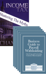 Business Withholding Guide (6-Pack) + Income Tax: Shattering the Myths