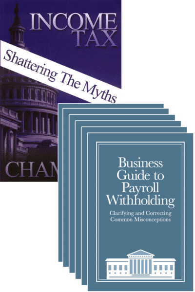 Dr. Reality Withholding Guide 6-Pack + Income Tax: Shattering the Myths