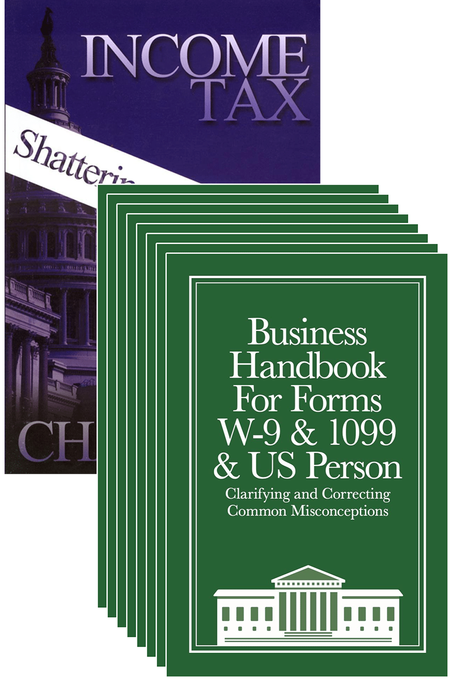 8-Pack Business W-9 Handbook with Income Tax: Shattering the Myths