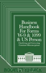 Business W-9 Handbook (12-pack)