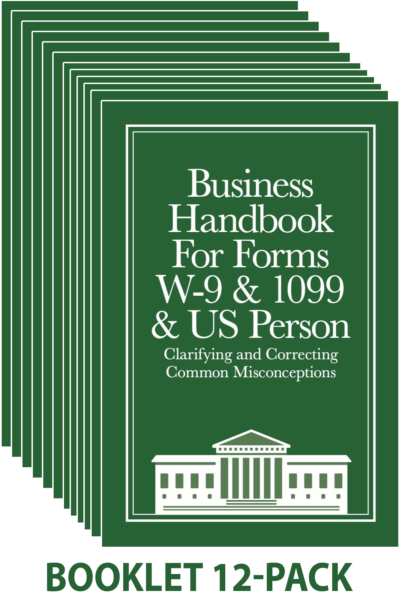12-pack Business W-9 Handbook
