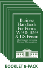 Business W-9 Handbook (8-pack)